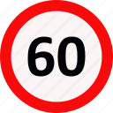 driveing, limit, signs, speed icon