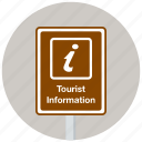 information, tourist, tourist information, traffic sign, travel, travelling icon