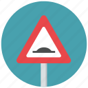 hump, hump ahead, reduce speed, speed, traffic sign, warning sign icon