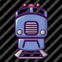 cartoon, internet, railway, train, transport, transportation, travel