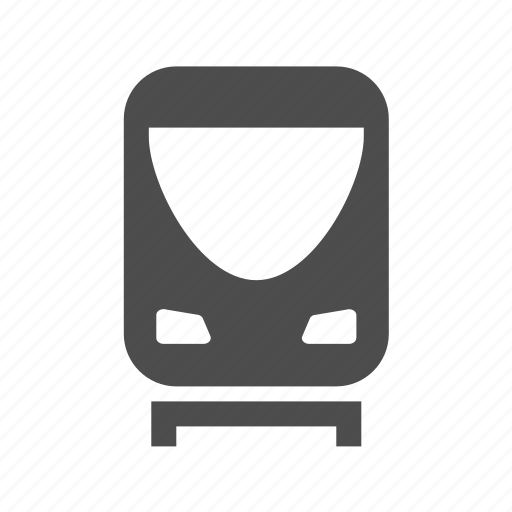 Railroad, rialway, route, train, transport, vahicle icon - Download on Iconfinder