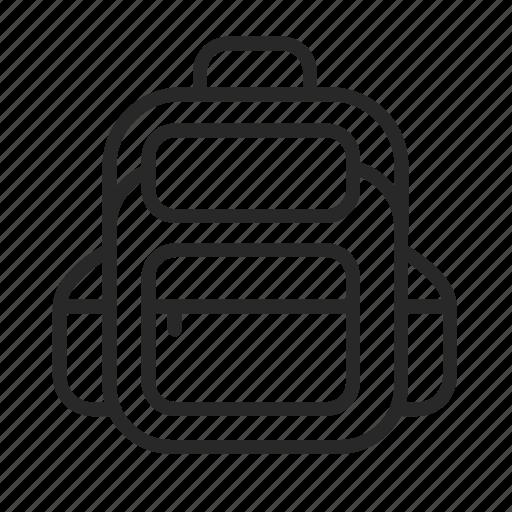bag, college, education, learning, school, training, university icon
