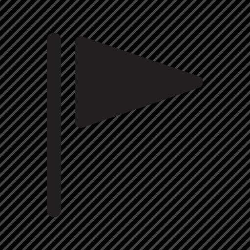 flag, line, pole, technology, transfers icon