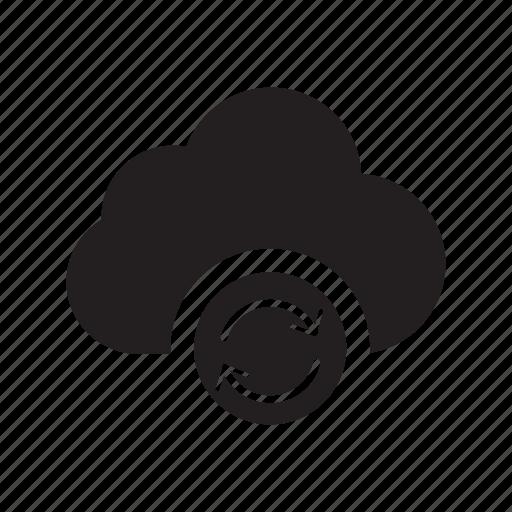 arrow, clockwise, cloud, refresh, reload, transfers icon