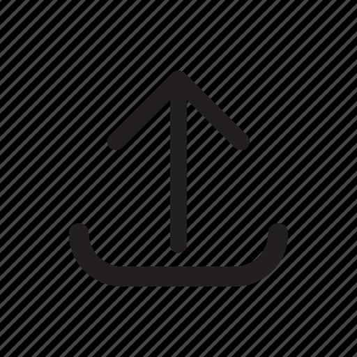 arrow, technology, transfers, up, upload icon