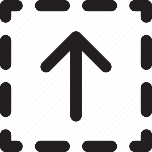 arrow, direction, square, transfer, up icon