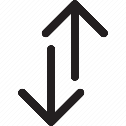 arrows, direction, down, transfer, up icon