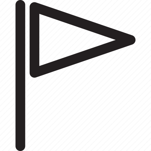 flag, indication, line, transfer, triangle icon