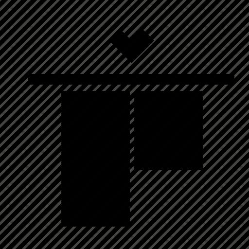 align, object, top, transform icon