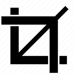 crop, tool, transform icon