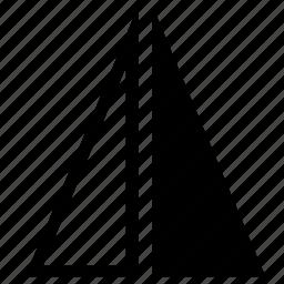 flip, horizontal, transform icon