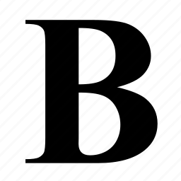 bold, formatting, text, transform icon