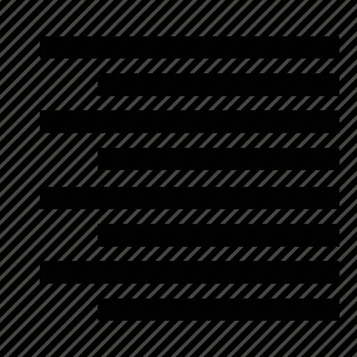align, formatting, right, text, transform icon