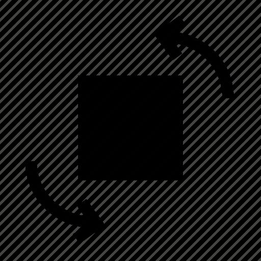 anti, anti-clockwise, clockwise, rotate, transform, turn icon