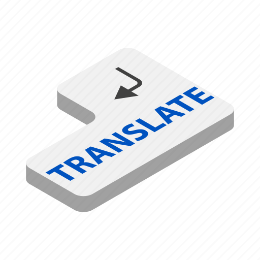 communication, computer, global, isometric, keyboard, language, translate icon