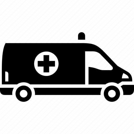 ambulance, car, emergency service, medical, transport icon