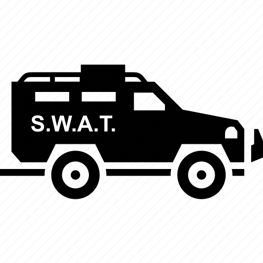 car, military, police, transport, truck icon
