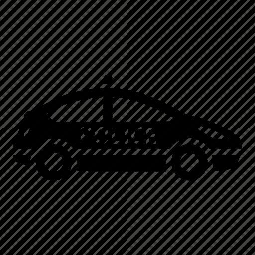 car, cop, patrol, police icon