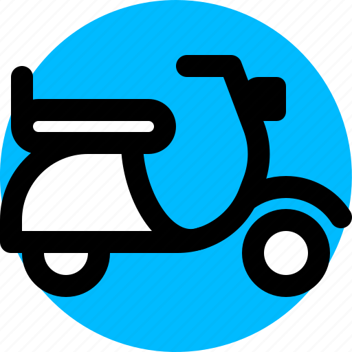 Motorcycle, scooter, transport, vehicle icon - Download on Iconfinder