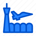aeronautical, air force base, aircraft fighter, army, attack jets, fighter, military icon