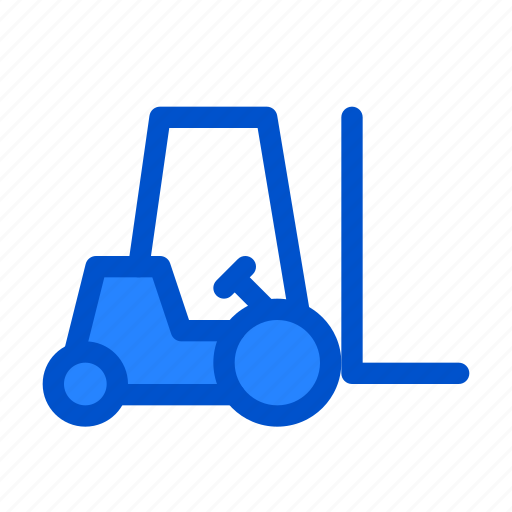 Cargo transport, carry, fork lift, fork-lift, forklift, lifter, machine icon - Download on Iconfinder