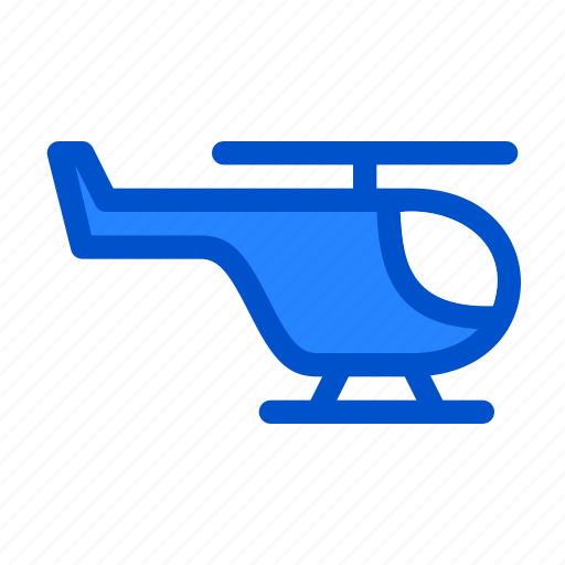 air, aircraft, chopper, fly, helicopter, vehicle icon