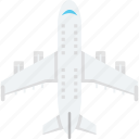air travel, aircraft, airplane, plane icon