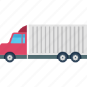 cargo truck, freight, logistic delivery, delivery truck, shipping truck icon