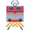 railway transportation, retro train, the passenger train, train, voyage icon