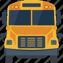bus, journey bus, school bus, tour bus, travel bus icon