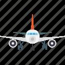 air travel, aircraft, airplane, aeroplane, plane icon
