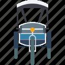asian vehicle, cycle rickshaw, rickshaw, transport, travel icon