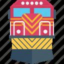 metro train, subway, train, tram, transport icon