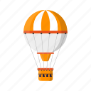 air balloon, transport, transportation, vehicle icon