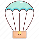 hot air balloon, transportation, transport, vehicle, shipping, logistic, traffic icon