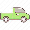 vehicle, pick up truck, transport, car, delivery, logistic, traffic