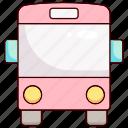 vehicle, transportation, transport, bus, school bus, logistic, traffic