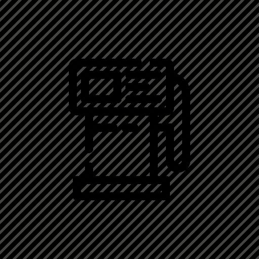 Gas, station, fuel, petrol, oil, gasoline icon - Download on Iconfinder