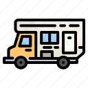 van, camper, car, travel, camping, vehicle, transport