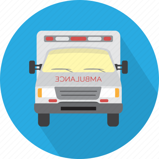 ambulance, emergency, health, medical, sign, transport, van icon