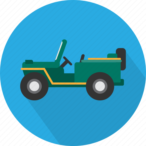 army jeep, jeep, military, soldier, squad, transport, war icon