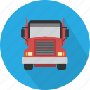big truck, delivery, logistic, shipping, transport, truck icon