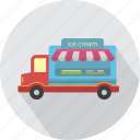 business, car, cold, cream, ice, summer, transport icon