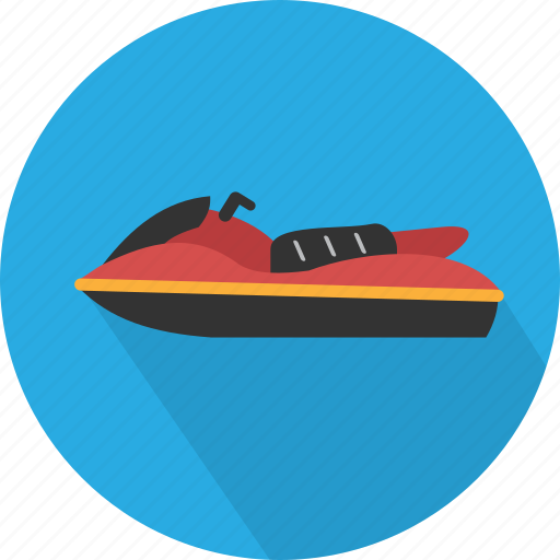 extreme, jet, jet ski, sea, ski, sport, transport icon