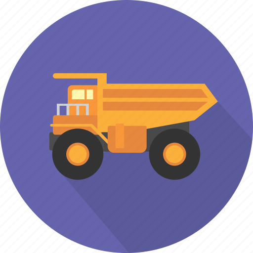 big, construction, industry, mining, mining truck, transport, truck icon