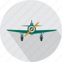 air, aircraft, army plane, flight, plane, transport, weapon icon