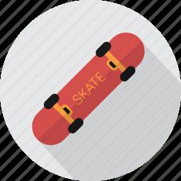 board, extreme, skateboard, skater, street, transport, urban icon