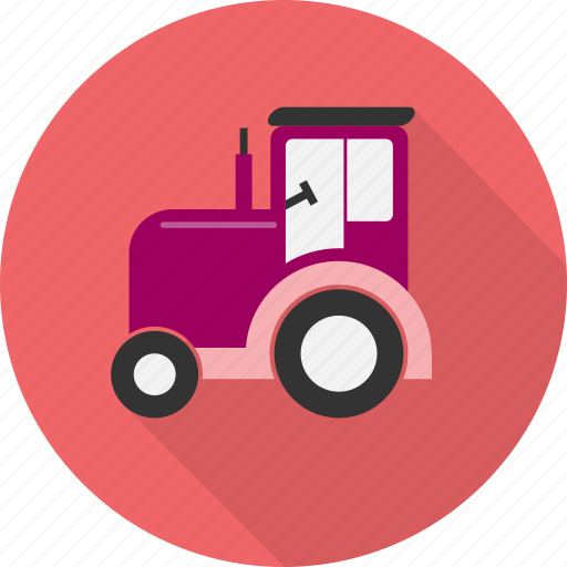 agriculture, equipment, farm, industrial, machine, tractor, transport icon