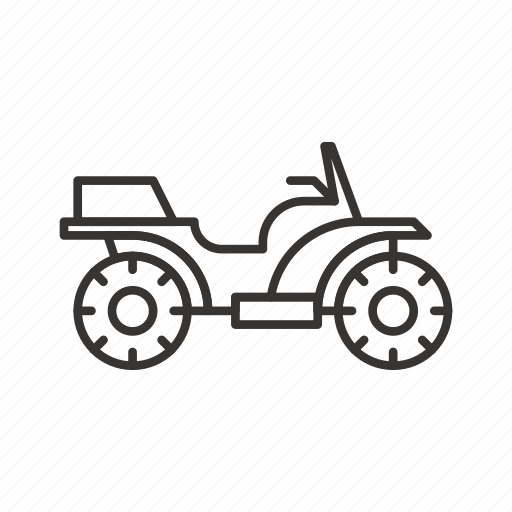 atv, transport, transportation, travel, vehicle icon