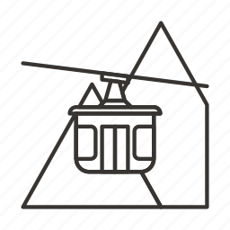 auto, road, the cable car, transport, transportation, vehicle icon